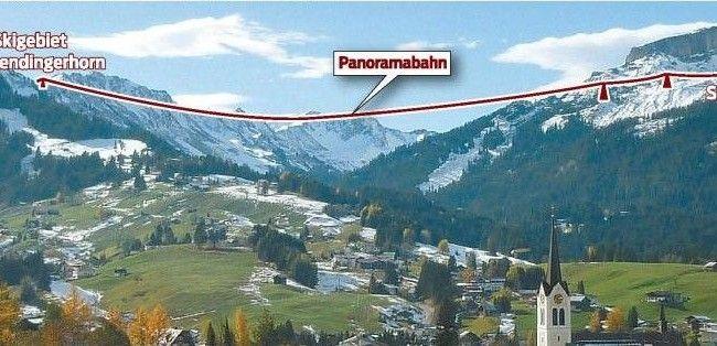 Kleinwalsertaler werden am 21. Oktober über Panoramabahn entscheiden.