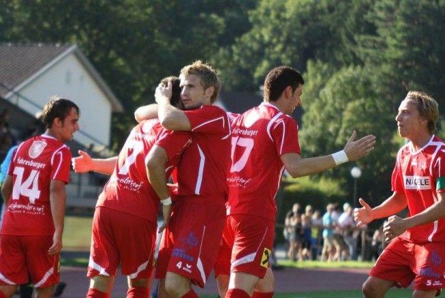 Rankweil jubelte zum zweiten Mal innert 72 Stunden gegen Feldkirch und steht in Runde drei.