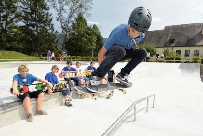 Skaterpark hat Praxistest bestanden