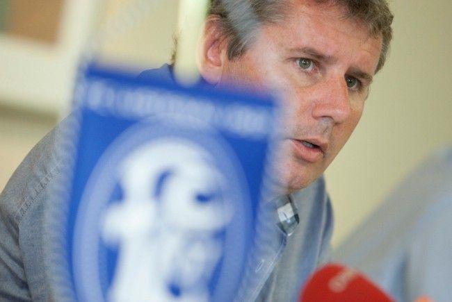 """FC-Lustenau-Präsident Sperger: """"Es wird nichts herauskommen""""."""