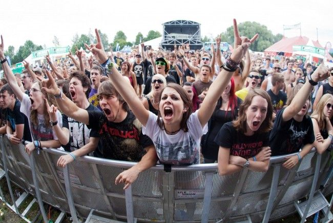 Festivalfans kamen dieser Tage in Lustenau auf ihre Kosten.
