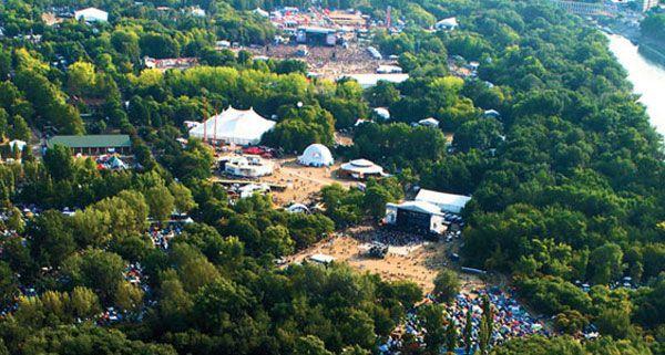 Am 6. August startet das Sziget Festival in Budapest.