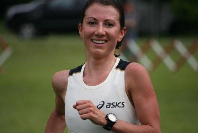 Laufwunder Sabine Reiner gewinnt mit neuem Streckenrekord in Mayerhofen.