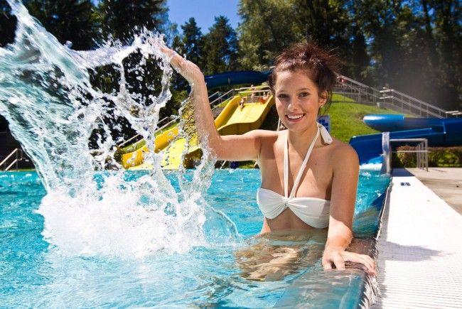 Das kommende Wochenende bringt Badewetter mit sich.