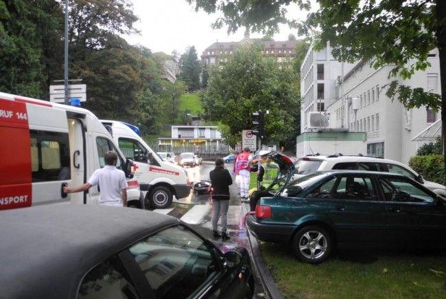 Verkehrsunfall in Feldkirch