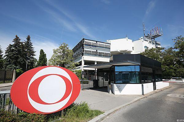 Haupteingang zum ORF-Zentrum am Küniglberg
