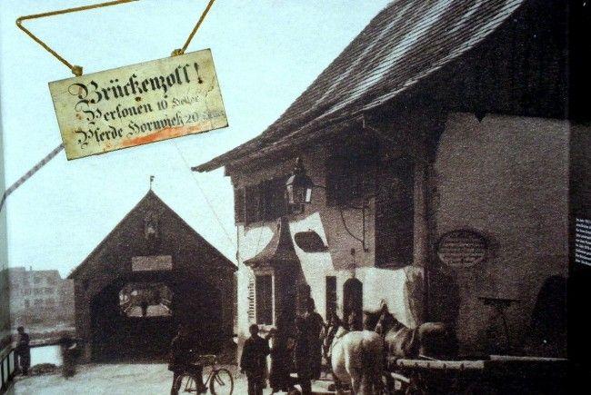 Brückenzoll - ein Relikt der Vergangenheit