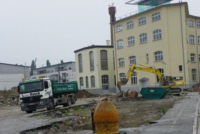 Gebäude wurden geschliffen