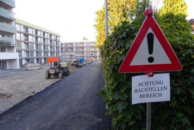 Behinderungen durch Baumaßnahmen
