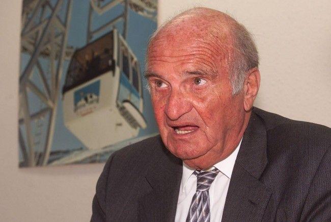 Artur Doppelmayer (Archivbild) feiert seinen 90. Geburtstag.