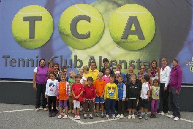 Das Tenniscamp beim TC Altenstadt war mit 30 Kids wieder sehr gut besucht.