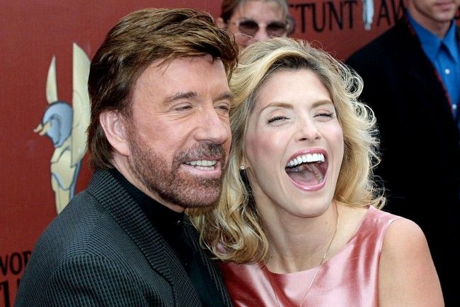 Chuck Norris und seine Frau Gena (Archivbild).