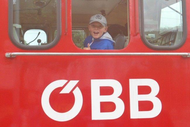 Konstantin erkundete die ÖBB-Lock