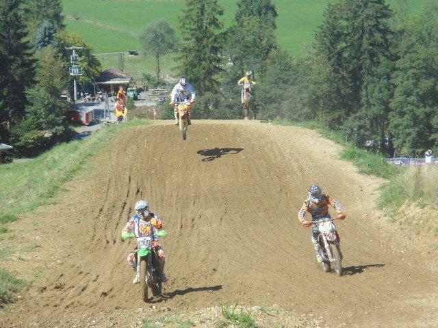 Spannende Rennen auf der Rennstrecke in Möggers