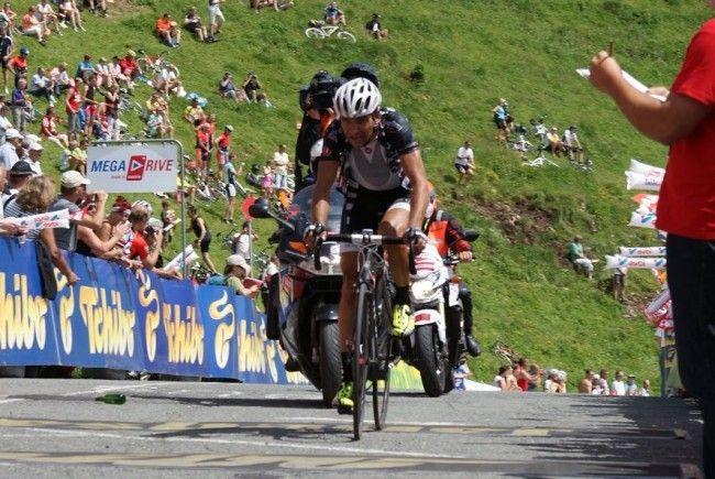 Robert Vrecer wurde in Frankreich sensationell Zweiter hinter Star Davide Rebellin.