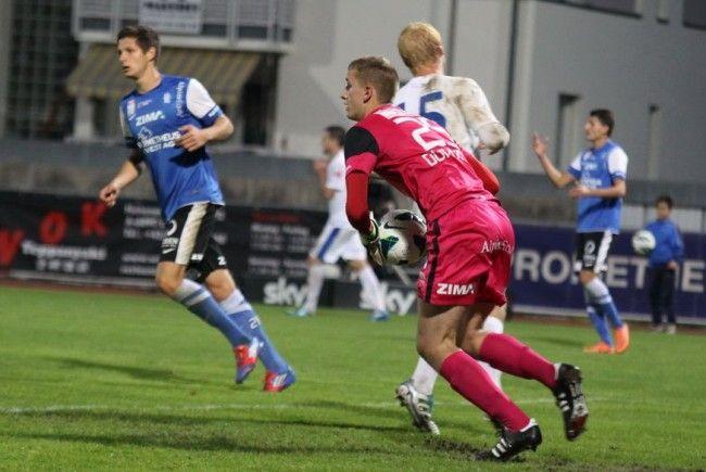 FC Lustenau-Goalie Reuf Durakovic bot eine nationalteamreife Leistung.
