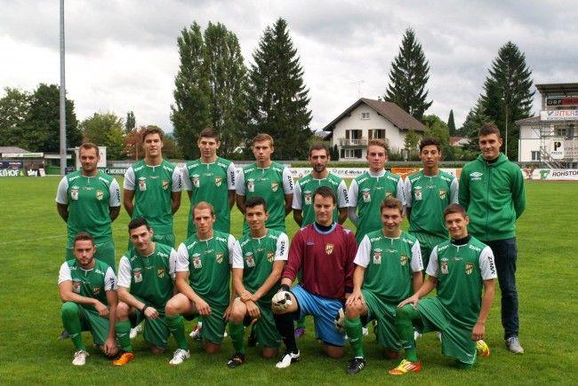 Das Future Team der Austria Lustenau hat große Ziele, ganz nach dem Vorbild der Kampfmannschaft.
