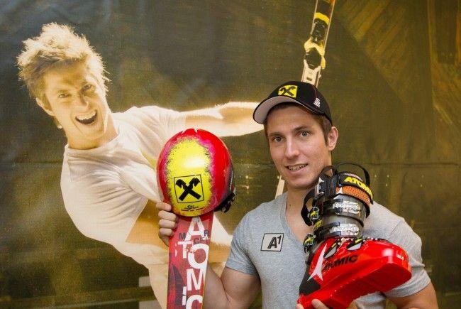 Salzburg Ski-Super-Star Marcel Hirscher in neuem Design.