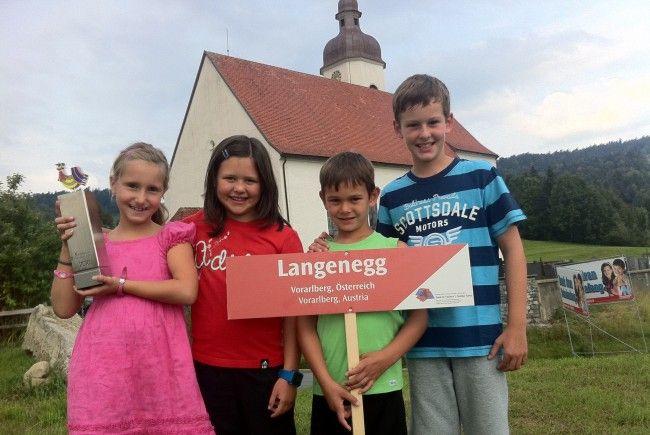 Die Kinder von Langenegg sind bereit für das große Fest