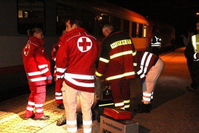 Ein 42-Jähriger Rankweiler wurde vom Zug erfasst.
