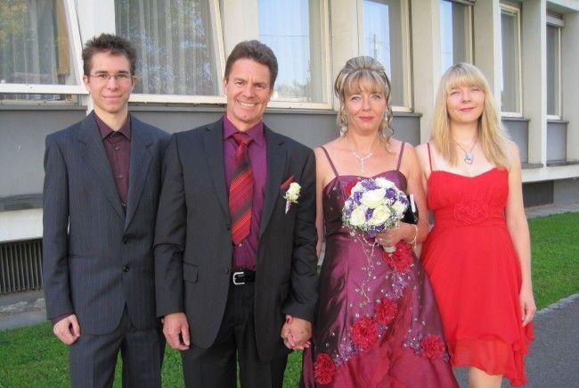 Monique Schaal und Benno Hohengasser haben geheiratet