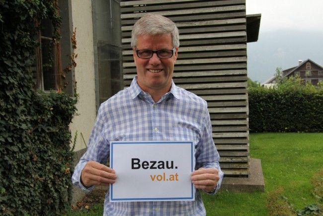 Georg Fröwis, Bürgermeister von Bezau, im Gespräch mit VOL.AT.