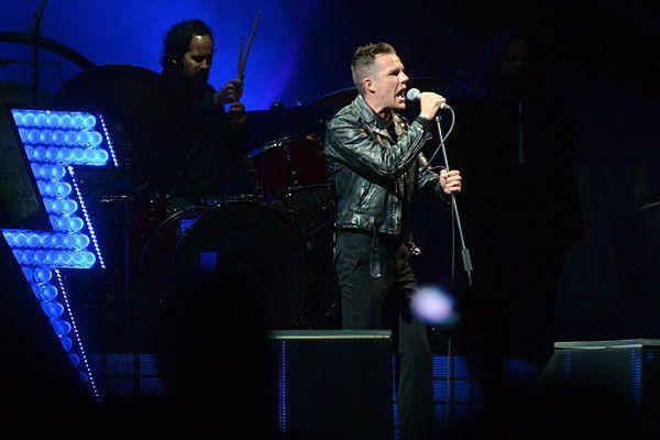 The Killers bei ihrem Auftritt am Frequency Festival im August 2012