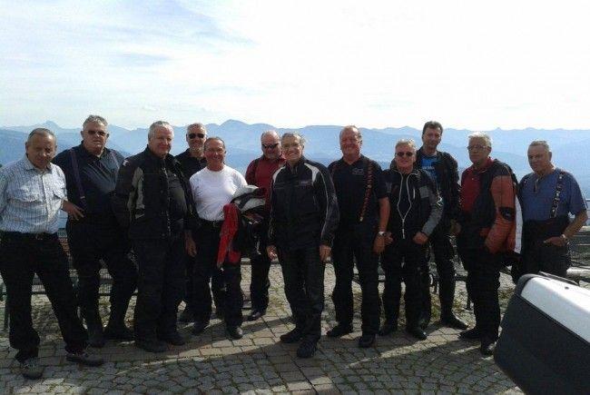 Die Motorradgruppe des PVÖ