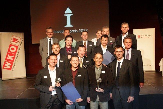 Heuer haben 26 Unternehmen innovative Projekte eingereicht, sieben davon wurden mit dem Innovationspreis ausgezeichnet.