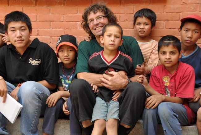 Hilfsaktion Go for Nepal hat der Frastanzer Franz Lutz ins Leben gerufen.