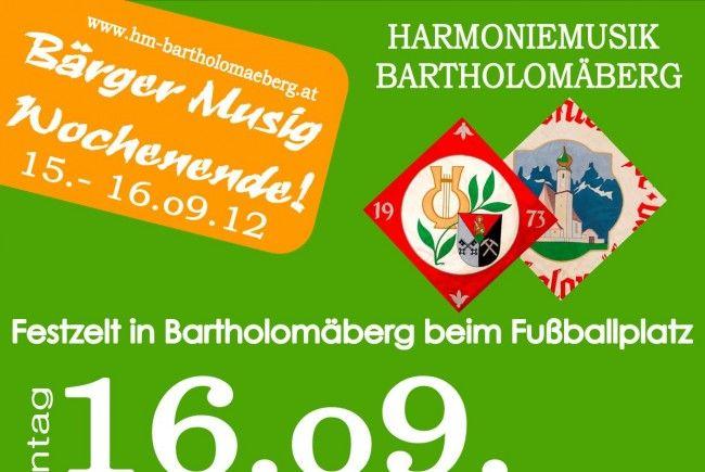 Festakt in Bartholomäberg