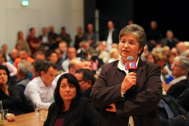 Das Thema Raststätte interessierte beim VN-Stammtisch über 250 Hörbranzer. Das vorliegende Projekt wurde engagiert diskutiert.