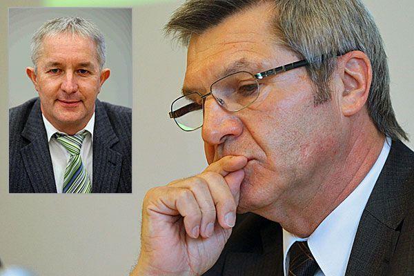 Franz Wirth (links oben) trat nach Stemer-Intervention zurück.