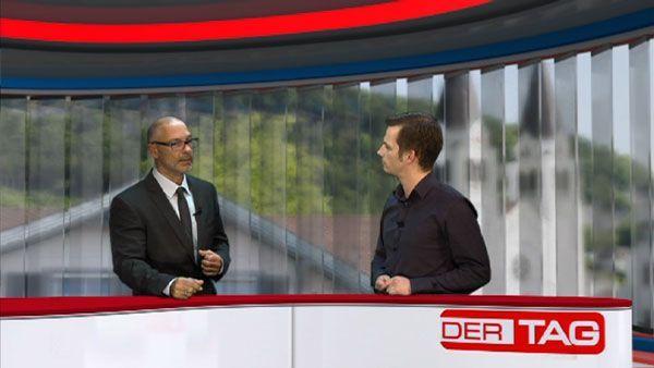 Philipp Fasser (r.) im Gespräch mit RA Gerhard Scheidbach