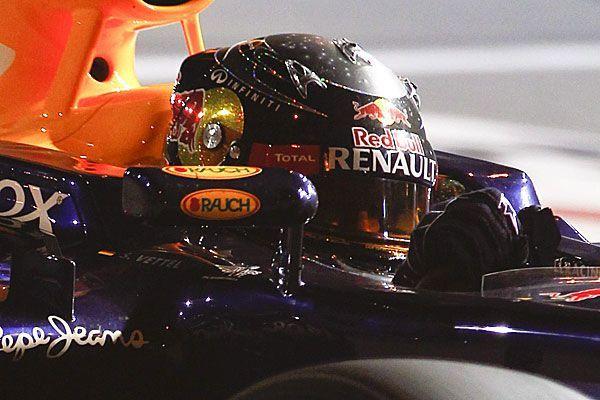 Sebastian Vettel ist mit seinem Sieg zurück im Titelrennen der Formel 1.