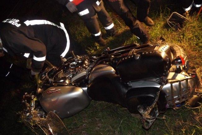 Ein 46-jähriger Mann aus Nenzing wurde bei einem Verkehrsunfall schwer verletzt.