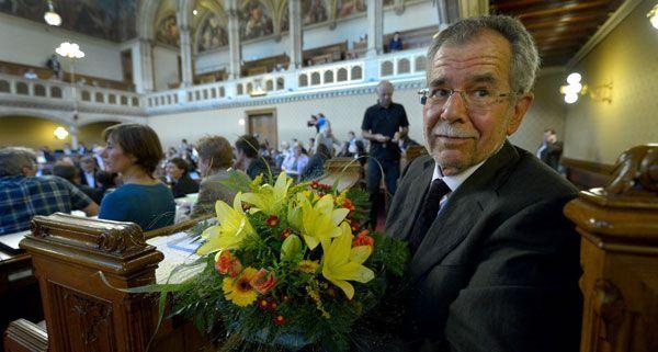Am Freitag wurde Alexander Van der Bellen im Wiener Gemeinderat angelobt.