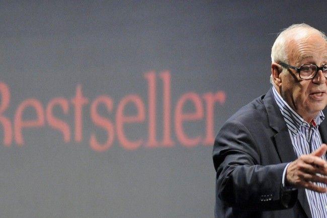 Globalisierungs-Kritiker Jean Ziegler während seines Vortrages bei den 19. Österreichischen Medientagen in Wien.