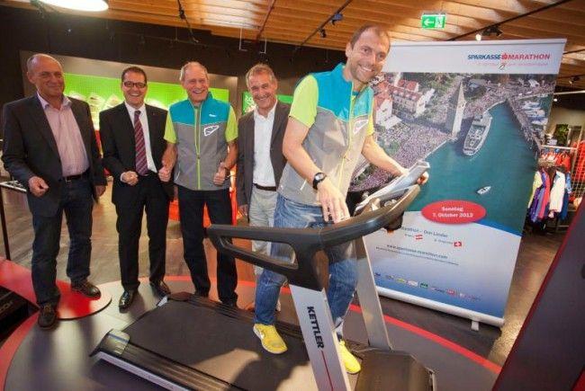 Beim Sponsor Intersport Eybl in Hohenems hat das Marathon OK-Team die neuesten News bekanntgegeben.