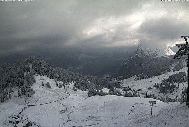 Das Ski - und Wandergebiet in Mellau am Donnerstagvormittag.