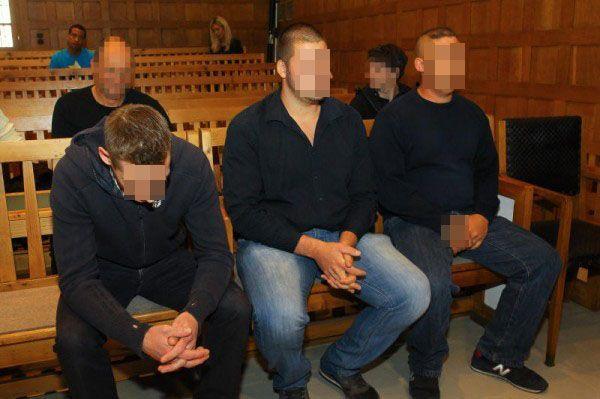 Alle drei Angeklagten wurden schuldig gesprochen.