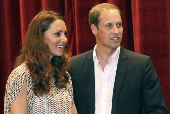 Prinz William und Kate in Singapur