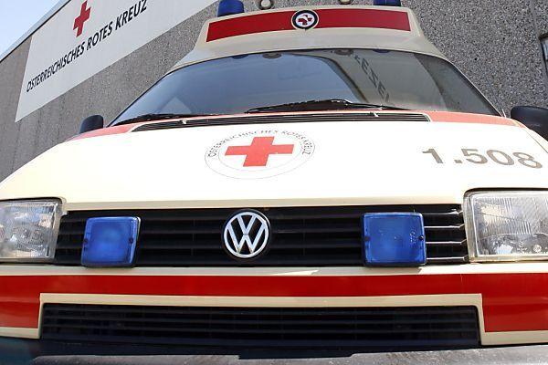 Verletzte wurde in das Krankenhaus Dornbirn gebracht.
