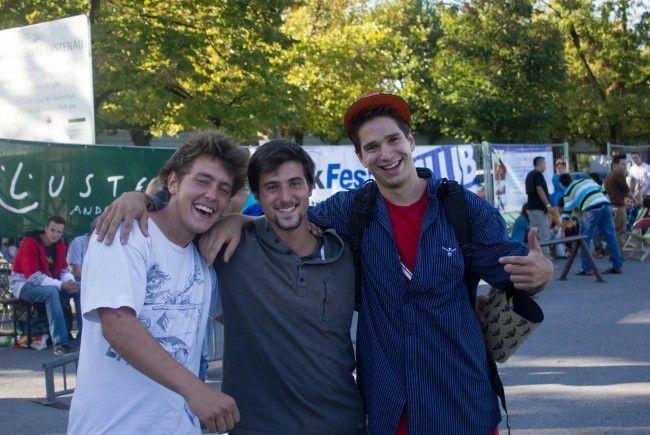 Dustin Vonach(1.Platz-mitte), Stephan Tapfer (2.Platz-links), Manuel Nuculovic (3.Platz-rechts)