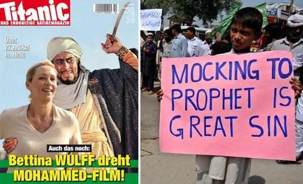 Satiremagazin will auf aktuelle Debatte über Mohammed-Film reagieren.