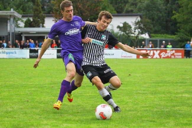 Alberschwende verlor in Bregenz mit 0:2, erstmals keine Punkte für die Milovanovic-Elf.