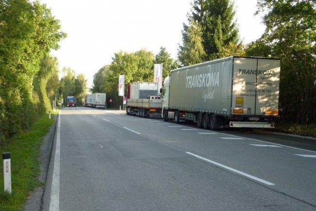 Weitere Lkw-Standplätze beim Zollamt Wolfurt eingerichtet.