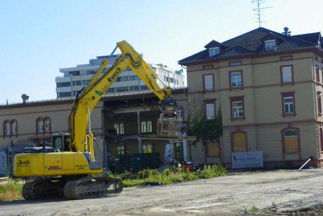 Blumeneggsaal wird abgerissen