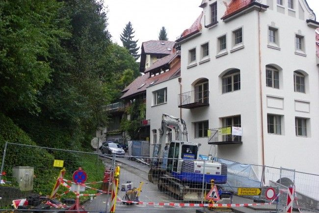 Sperre der Schlossbergstraße