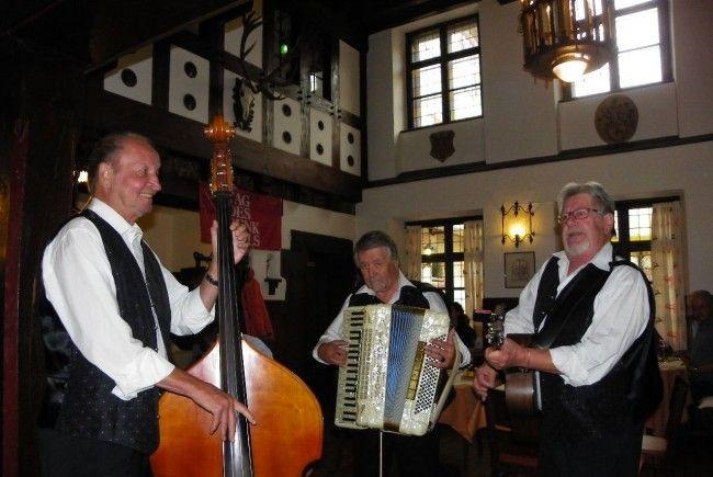 Willi Gmeiner Trio spielte auf